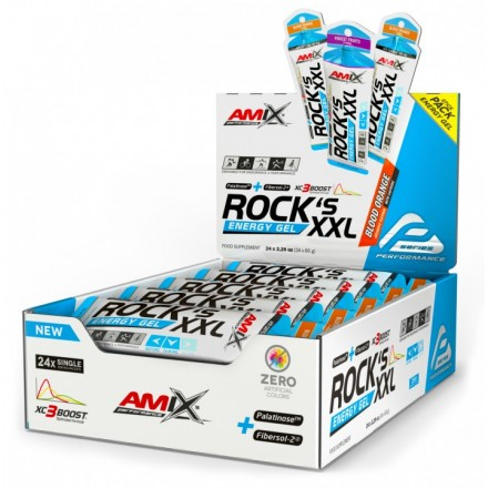 Rock's Energy Gel XXL CON CAFEINA