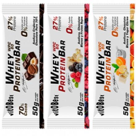 Whey Protein BAR By Torreblanca 20x50gr