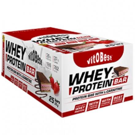 Whey Protein BAR 25x35gr