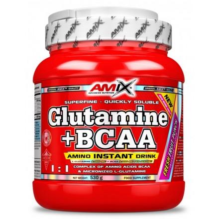 GLUTAMINA + BCAA 300GR
