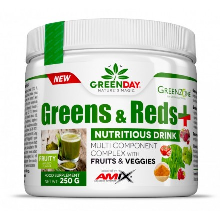Greens & Reds+