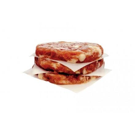 4 hamburguesas de ternera y queso
