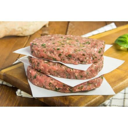 5 hamburguesas de ternera y espinacas