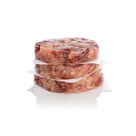 4 hamburguesas ibéricas de jamón y pechuga de pollo