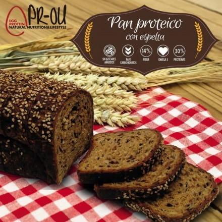 Pan proteico de espelta