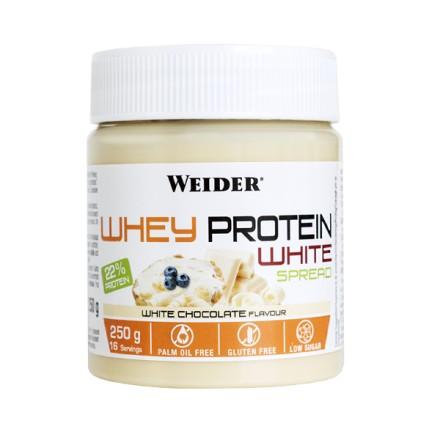 Crema proteica de chocolate blanco