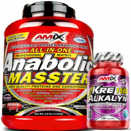 ANABOLIC MASSTER Protein & Carbohydrate