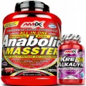 ANABOLIC MASSTER 2.2kg + REGALO 30CAPS.