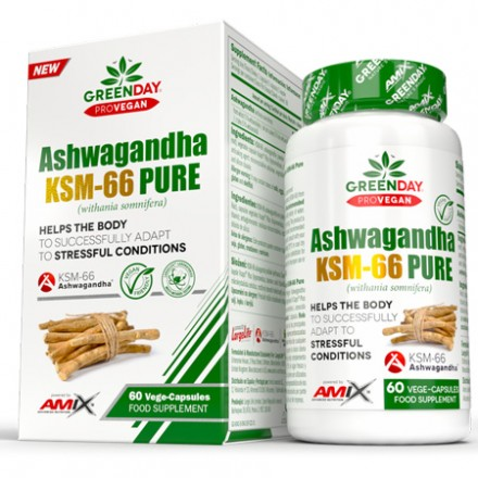 GreenDay® ProVegan Ashwagandha KMS-66 Pure