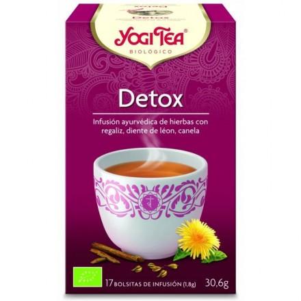 Yogi tea infusion desintoxicante detox