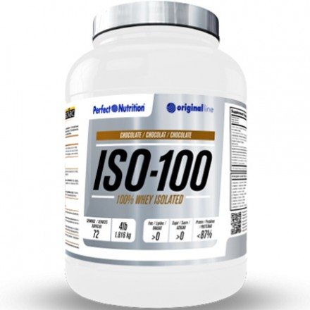 ISO 100 - 100% WHEY ISOLATED