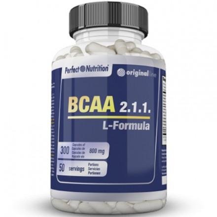 BCAA 2.1.1 L-FORMULA-300CAPS
