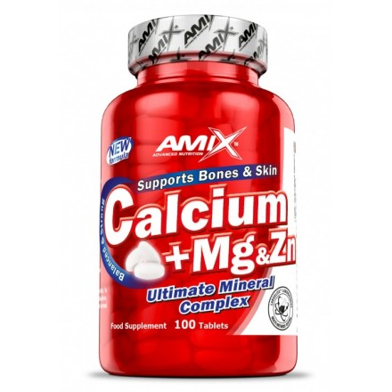 Calcium + Mg + Zn